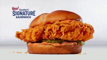 Zaxby's Signature Sandwich Meal TV Spot, 'We're Going Big: Redeem Rewards' - Thumbnail 8