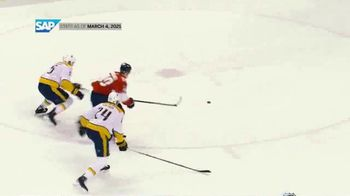 SAP/NHL Coaching Insights App TV Spot, 'Key Stats: Panthers vs. Predators' - Thumbnail 4
