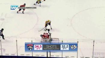 SAP/NHL Coaching Insights App TV Spot, 'Key Stats: Panthers vs. Predators' - Thumbnail 6