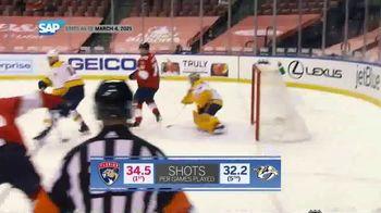 SAP/NHL Coaching Insights App TV Spot, 'Key Stats: Panthers vs. Predators' - Thumbnail 7