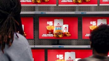 Wendy's $5 Biggie Bag TV Spot, 'Secure the Bag' Song by DJ Khaled, Migos - Thumbnail 4