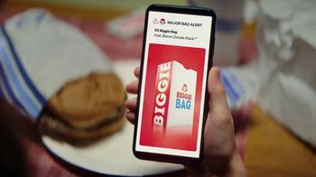 Wendy's $5 Biggie Bag TV Spot, 'Secure the Bag' Song by DJ Khaled, Migos - Thumbnail 6