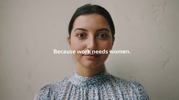 Indeed TV Spot, 'Work Needs Women' Song by MisterWives - Thumbnail 10