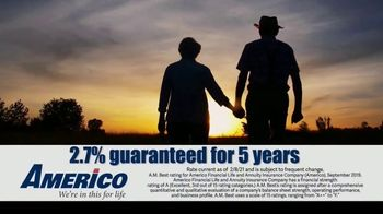 Americo Life Inc. TV Spot, 'Uncertain Times' - Thumbnail 4