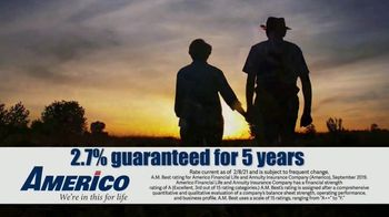 Americo Life Inc. TV Spot, 'Uncertain Times' - Thumbnail 5