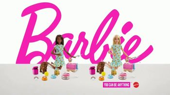 Barbie Puppy Party Playset TV Spot, 'Cake, Confetti and Presents' - Thumbnail 9