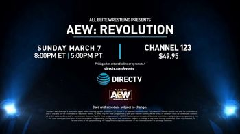 DIRECTV TV Spot, 'All Elite Wrestling: Revolution' - Thumbnail 8