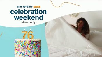 Ashley HomeStore Anniversary Sale Celebration Weekend TV Spot, '50% Off Gildeaway Bases' - Thumbnail 2