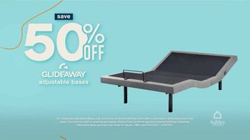 Ashley HomeStore Anniversary Sale Celebration Weekend TV Spot, '50% Off Gildeaway Bases' - Thumbnail 4