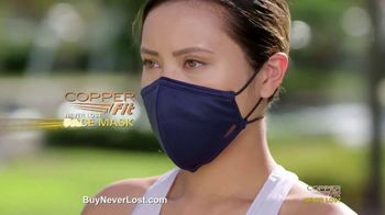 Copper Fit Never Lost Face Mask TV Spot, 'Lose Something?: Built-In Lanyard' - Thumbnail 8