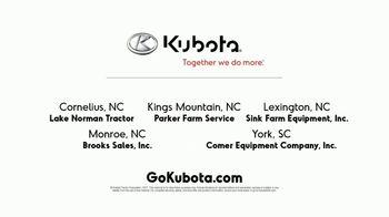 Kubota LX2610SU Tractor Package TV Spot, 'Durability and Versatility' - Thumbnail 6