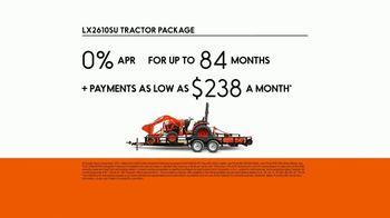Kubota LX2610SU Tractor Package TV Spot, 'Durability and Versatility' - Thumbnail 5