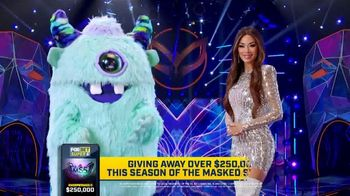 FOX Bet Super 6 App TV Spot, 'The Masked Singer: Win $250,000'