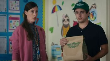 Wingstop TV Spot, 'Lunch to Class' - Thumbnail 6