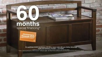 Ashley HomeStore Anniversary Sale TV Spot, 'Up to 25% or Rewards Card' - Thumbnail 7