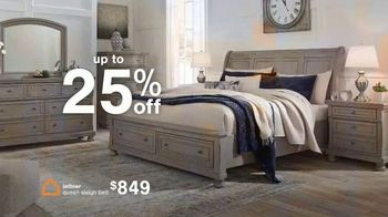 Ashley HomeStore Anniversary Sale TV Spot, 'Up to 25% or Rewards Card'