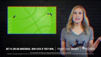 DraftKings SportsBook TV Spot, 'Tournament Time: Bet $4 on Underdog' - Thumbnail 2