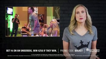 DraftKings SportsBook TV Spot, 'Tournament Time: Bet $4 on Underdog' - Thumbnail 6