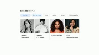 Google TV Spot, 'First of Many: 2021 Women's History Month' Song by Beyoncé