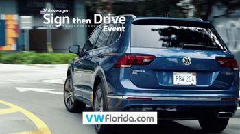 Volkswagen Sign Then Drive Event TV Spot, 'Spring Break: Break Away Financing' [T2] - Thumbnail 3