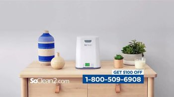 SoClean 2 TV Spot, 'Keep the Immune System Strong: $100 Off' Featuring William Shatner