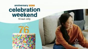 Ashley HomeStore Anniversary Sale Celebration Weekend TV Spot, '20% Storewide: Giveaway' - Thumbnail 2