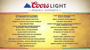 Coors Light TV Spot, 'Annual Donations to Nonprofit Organizations' - Thumbnail 4