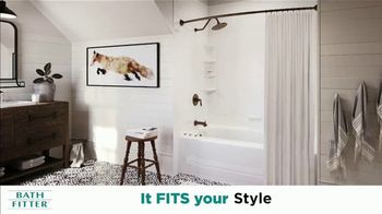 Bath Fitter TV Spot, 'Fit Your Style: Pay Nothing for 18 Months' - Thumbnail 1