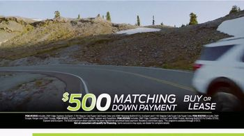 Ford Matching Down Payment Sales Event TV Spot, 'Commitment: Explorer' [T2] - Thumbnail 3
