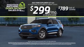Ford Matching Down Payment Sales Event TV Spot, 'Commitment: Explorer' [T2] - Thumbnail 7