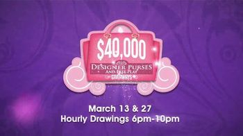 Coushatta Casino Resort $40,000 Designer Purses & Free Play Giveaways TV Spot, 'Five Lucky Winners' - Thumbnail 4