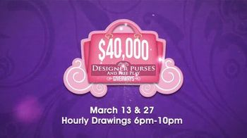 Coushatta Casino Resort $40,000 Designer Purses & Free Play Giveaways TV Spot, 'Five Lucky Winners' - Thumbnail 7