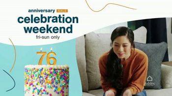Ashley HomeStore Anniversary Sale Celebration Weekend TV Spot, '20% Off Storewide' - Thumbnail 2