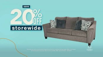 Ashley HomeStore Anniversary Sale Celebration Weekend TV Spot, '20% Off Storewide' - Thumbnail 4