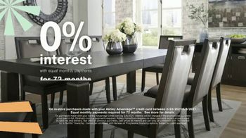 Ashley HomeStore Ultimate Event TV Spot, '30% Off: Hyndell Dining' - Thumbnail 5