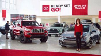 Toyota Ready Set Go! TV Spot, 'Imagine: Enough' [T1]