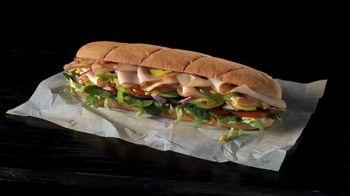 Subway Turkey TV Spot, 'Buy One Footlong, Get One 50% Off: Grubhub' - Thumbnail 1