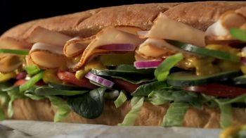 Subway Turkey TV Spot, 'Buy One Footlong, Get One 50% Off: Grubhub' - Thumbnail 2