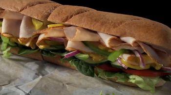 Subway Turkey TV Spot, 'Buy One Footlong, Get One 50% Off: Grubhub' - Thumbnail 5