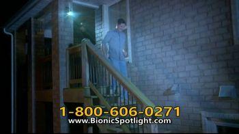 Bionic Spotlight TV Spot, 'Iluminación' [Spanish]