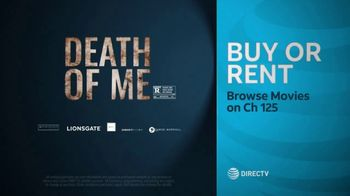 DIRECTV Cinema TV Spot, 'Death of Me' - Thumbnail 10