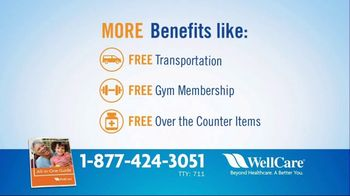 WellCare Medicare Advantage Plan TV Spot, 'Get More: Free Gym Membership' - Thumbnail 6