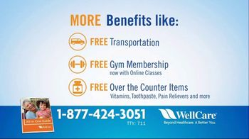WellCare Medicare Advantage Plan TV Spot, 'Get More: Free Gym Membership' - Thumbnail 7