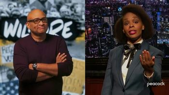 Peacock TV TV Spot, 'Late Night Shows: Wilmore and The Amber Ruffin Show' - 77 commercial airings