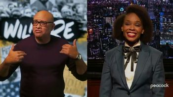 Peacock TV TV Spot, 'Late Night Shows: Wilmore and The Amber Ruffin Show' - Thumbnail 4