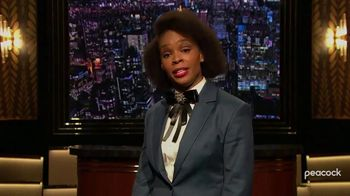 Peacock TV TV Spot, 'Late Night Shows: Wilmore and The Amber Ruffin Show' - Thumbnail 8