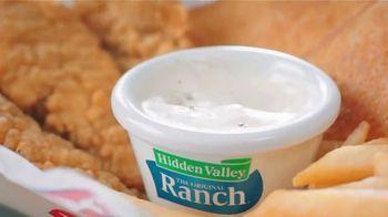 Dairy Queen Chicken Strip Basket TV Spot, 'Ranch Dream' - Thumbnail 7