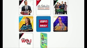 ESPN Podcasts TV Spot, 'Something for Everyone' - Thumbnail 2