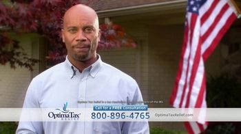 Optima Tax Relief TV Spot, 'Real Life Stories: Louie, Deanna, Eric'