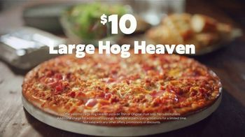 Papa Murphy's Hog Heaven Pizza TV Spot, 'Chow Down: $10'